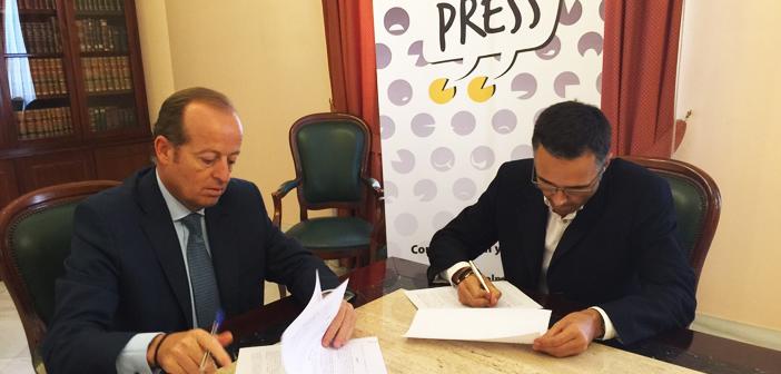 Firma Convenio ICAB JEREZ – DUAL PRESS