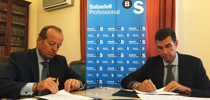 Los colegiados del ICABJerez se podrán beneficiar de los productos y servicios financieros que ofrece Banco Sabadell