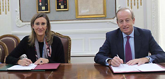 Encuentro institucional y firma de convenio con el Colegio de Abogados de Madrid