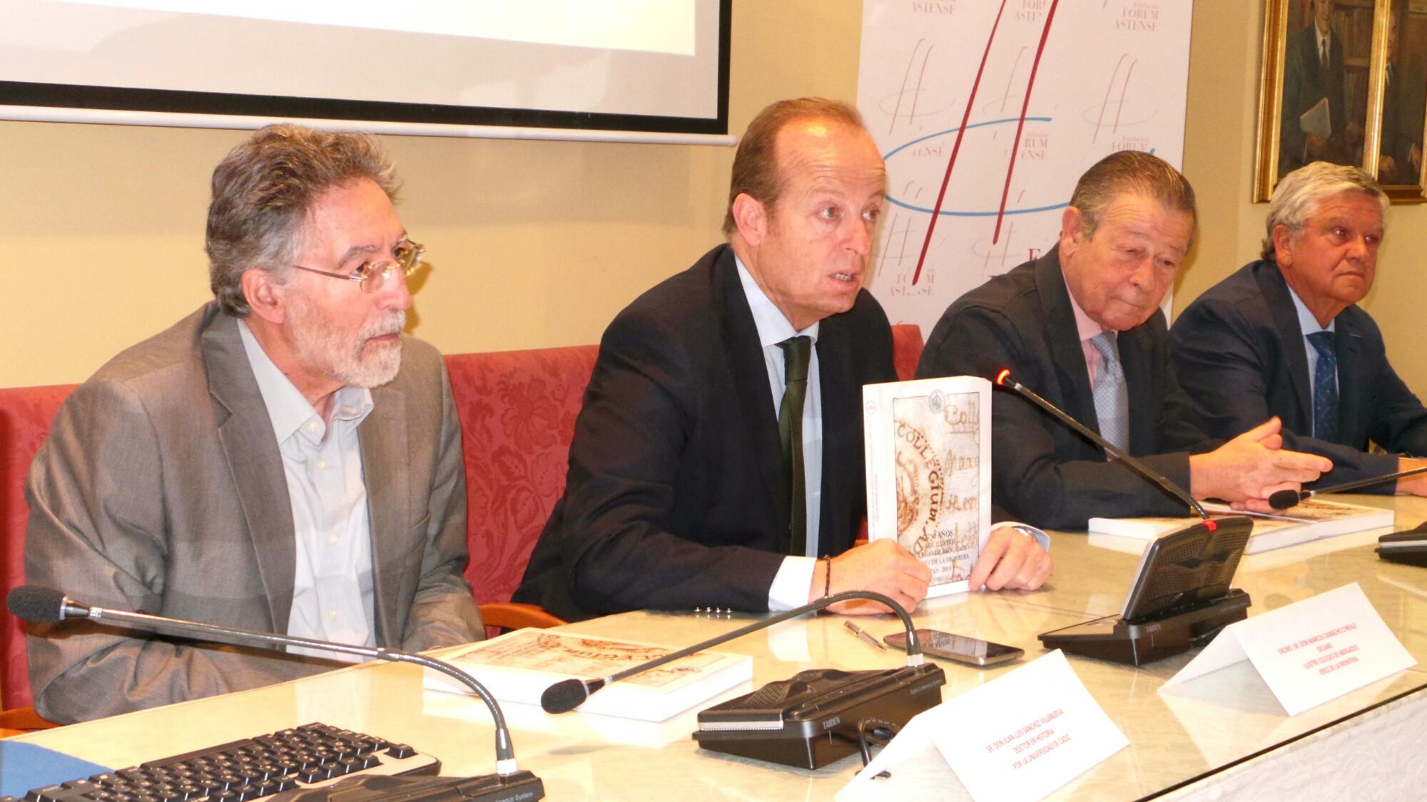 Presentación libro 250 aniversario ICAB Jerez 2