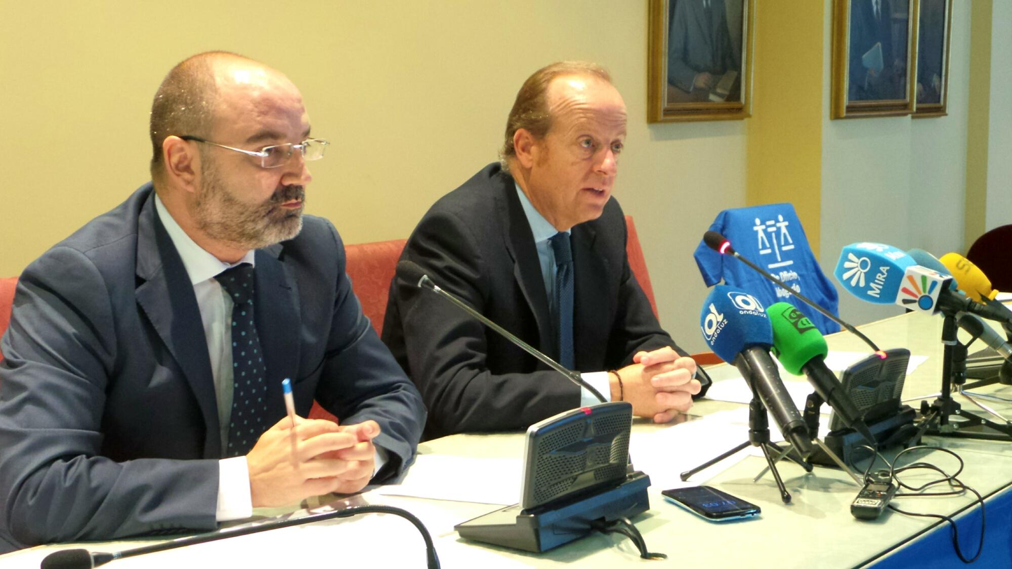 Marcos Camacho y Luciano García en Rueda de Prensa - JUL 2016 - ICAB Jerez