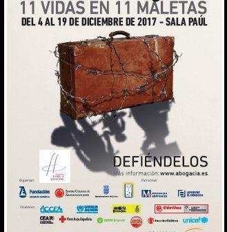'11 vidas en 11 maletas', en Jerez, del 4 al 19 de diciembre