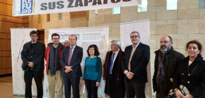 Inaugurada en Jerez la exposición del Consejo General de la Abogacía '11 vidas en 11 maletas'