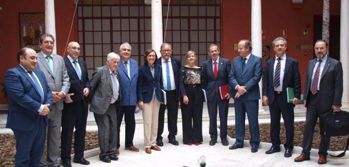 Reunión del Consejo Andaluz de Colegios de Abogados con la Consejera de Justicia