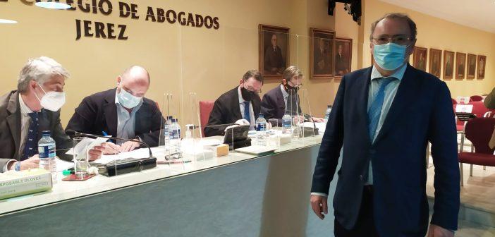 Federico Fernández, nuevo decano del Colegio de Abogados de Jerez