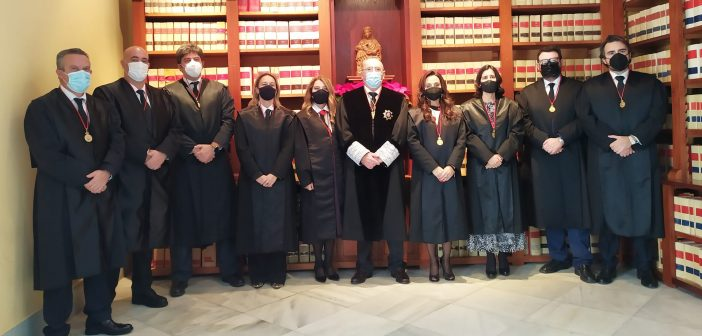 Toma de posesión del decano Federico Fernández y la Junta de Gobierno del Colegio de Abogados de Jerez