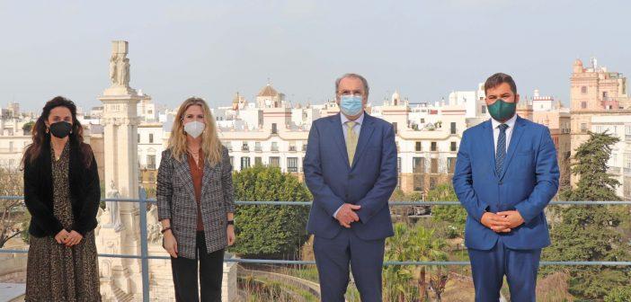 Encuentro institucional con la delegada del Gobierno en Cádiz