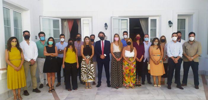 Pleno de los jóvenes abogados andaluces en el Colegio de Abogados de Jerez